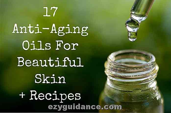 17 Anti-Aging Oljer For Beautiful Skin + Oppskrifter!