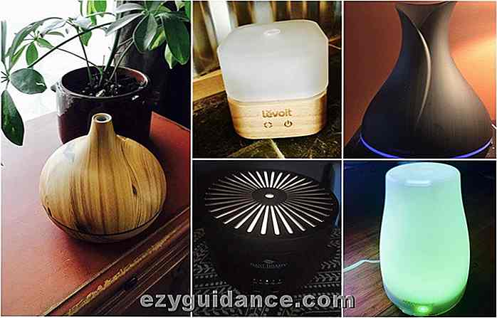 5 Best Essential Oil Diffusers van 2017 - We Reveal The Best