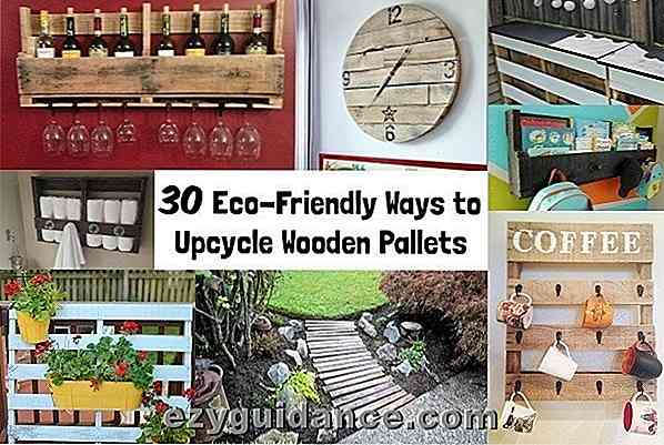 30 modi ecocompatibili per i pallet in legno Upcycle