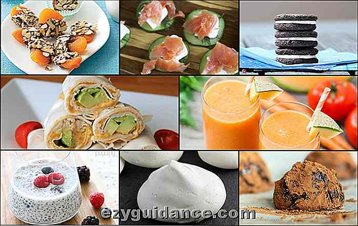 34 Delicious & Healthy Guilt Gratis Snacks Under 100 kalorier
