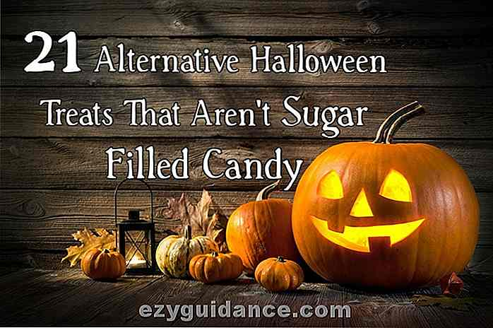 21 Alternative Halloween-Leckereien, die nicht Sugar-Filled Candy sind