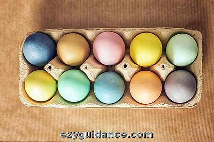 Come Naturally Dye Easter Eggs