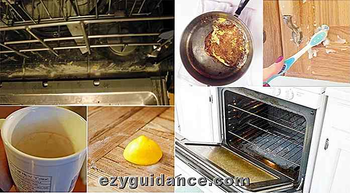 28 Epic Kitchen Cleaning Hacks som vil spare timer i livet ditt
